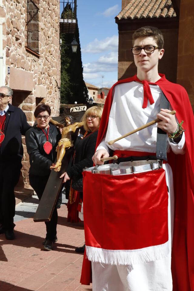 Devoción y fe marcan el Viernes Santo en Vilafamés (3)