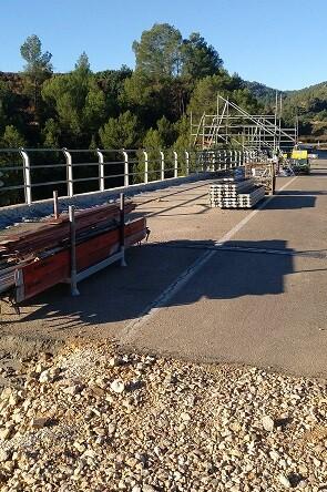 Diputación pone en marcha el proceso para ampliar la carretera y renovar la vía ciclopeatonal entre Anna y Chella. - copia
