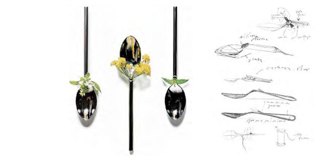 Diseños y esbozos para elBulliLUKI HUBERCon prólogo de FERRAN ADRIÀ1