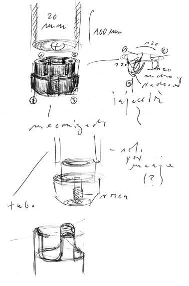 Diseños y esbozos para elBulliLUKI HUBERCon prólogo de FERRAN ADRIÀ4