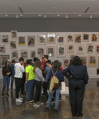 EL IVAM celebra el 125 aniversario del nacimiento de Miró. - copia