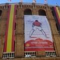El equipo español de tenis se prepara para la competición en la Plaza de Toros de València.
