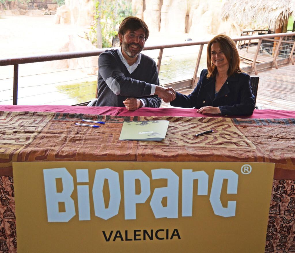 Firma convenio ICOVV - BIOPARC Valencia (1)