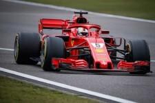 Formula 1-Vettel Ferrari