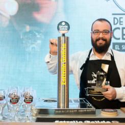 Francisco Martí de Burguer Beer (Valencia) finalista en el 5 Campeonato Nacional de Tiraje de Cerveza