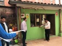 López viajó a Cuzco en febrero para supervisar proyectos financiados por el Ayuntamiento