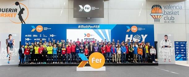 La fundación presidida por Juan Roig invertirá cerca de un millón de euros para apoyar a 127 deportistas de la Comunitat.