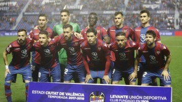 Levante Sevilla once inicial