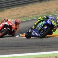Marquez y Valentino Rossi