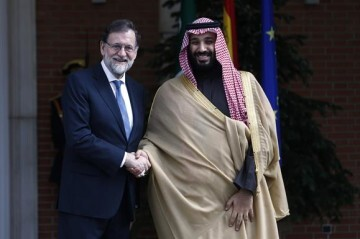 Rajoy ArabiaPrincipe Saudí
