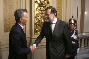 Rajoy Macri Argentina 1
