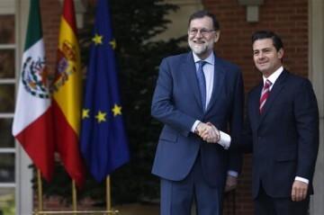 Rajoy recibe a Nieto Pte Mejico