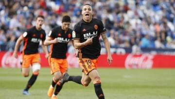 Rodrigo Vlc celebra el gol