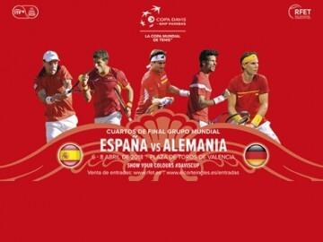 Tenis España Alemania Copa Davis
