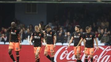 Valencia CF Gol Santi Mina