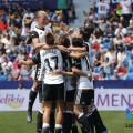 Valencia Celebra el Gol ante el Levante FEMENINO