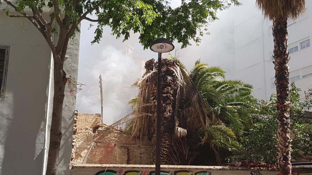 incendio avenida visitación de Valencia (10)