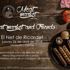 """Una nueva sesión de Meat Market & Friends , """"la mejor longanizade España"""""""