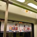 Metrovalencia señaliza los asientos reservados para personas con movilidad reducida con un diseño de Virginia Lorente Alegre