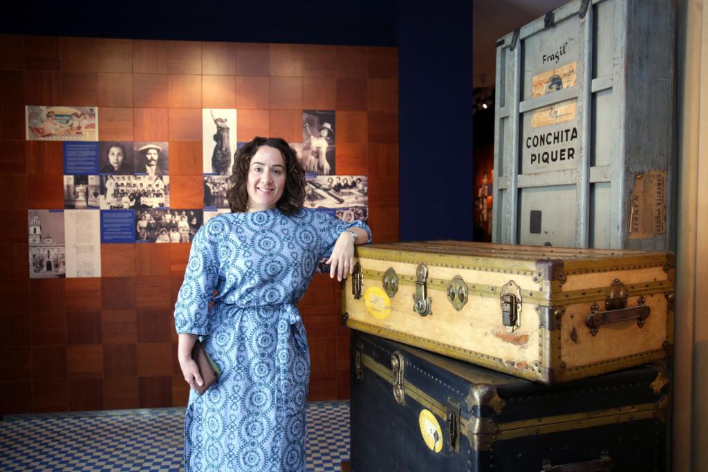 VALENCIA  2018-05-15 La regidora de Patrimoni i Recursos Culturals, Gl˜ria Tello, visita la Casa-Museu Concha Piquer, una vegada finalitzades les obres de remodelaci—.