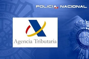 Agencia Tributaria y Policía Nacional-250418AgTribut_Policia