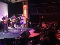 Berklee students band and Oscar Stagnaro 2