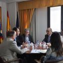 La Diputación coordina con el sector cerámico nuevas iniciativas para fomentar el uso urbano del azulejo en municipios de Castellón
