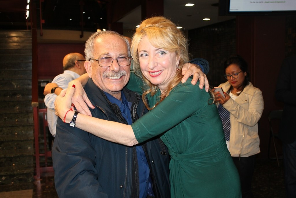 Dra Hurtado y Dr Racho celebran la victoria de la candidatura