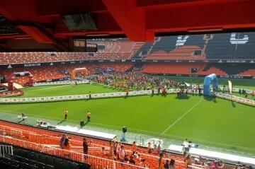 El estadio de Mestalla recibirá a los participantes de la II Volta a Peu València CF.