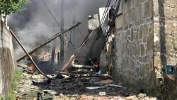 Explosión en Tui Pontevedra