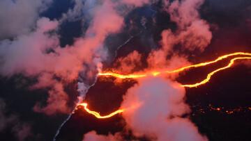 Kilauea Ríos de lava