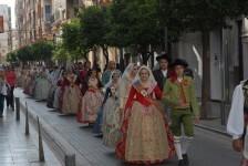 La Federación Junta Fallera de Sagunto celebra la festividad de la Cruz de Mayo (1)