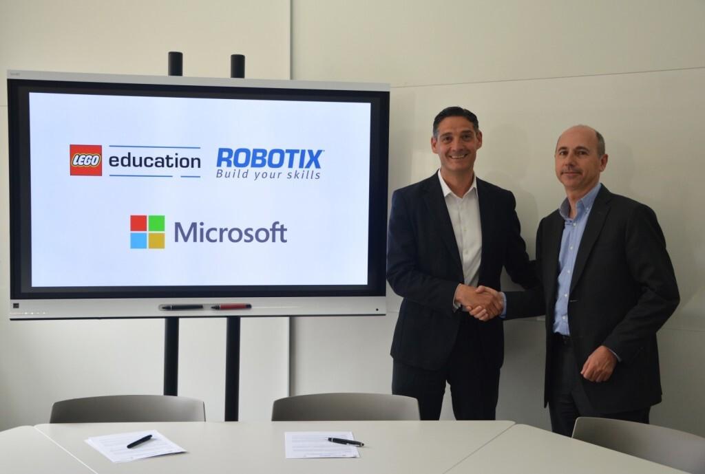 Lego Acuerdo Microsoft