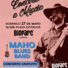 La banda de blues MAHO este domingo en la plaza exterior de BIOPARC Valencia