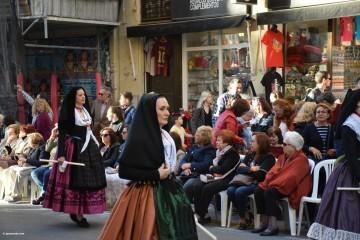 Procesión general por las calles del centro de Valencia en honor a la Virgen de los Desamparados (104)