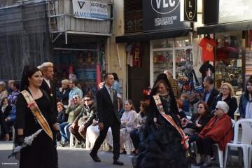 Procesión general por las calles del centro de Valencia en honor a la Virgen de los Desamparados (105)
