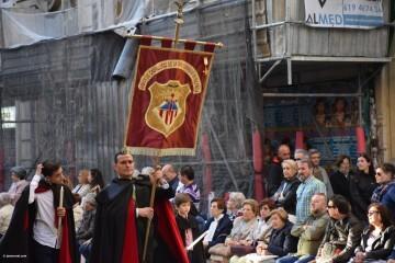 Procesión general por las calles del centro de Valencia en honor a la Virgen de los Desamparados (109)