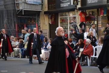 Procesión general por las calles del centro de Valencia en honor a la Virgen de los Desamparados (111)