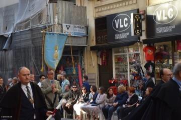 Procesión general por las calles del centro de Valencia en honor a la Virgen de los Desamparados (112)
