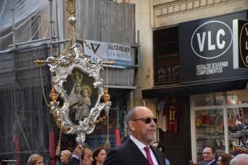 Procesión general por las calles del centro de Valencia en honor a la Virgen de los Desamparados (115)