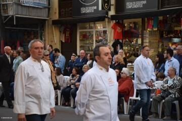 Procesión general por las calles del centro de Valencia en honor a la Virgen de los Desamparados (118)