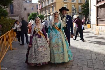 Procesión general por las calles del centro de Valencia en honor a la Virgen de los Desamparados (12)