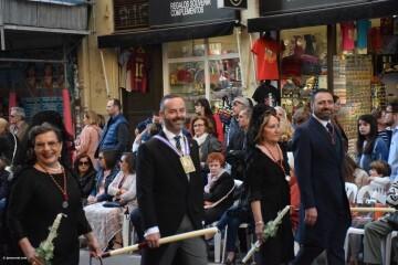 Procesión general por las calles del centro de Valencia en honor a la Virgen de los Desamparados (121)
