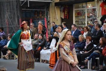 Procesión general por las calles del centro de Valencia en honor a la Virgen de los Desamparados (122)