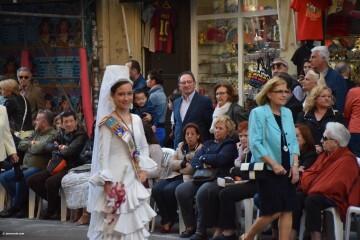 Procesión general por las calles del centro de Valencia en honor a la Virgen de los Desamparados (123)