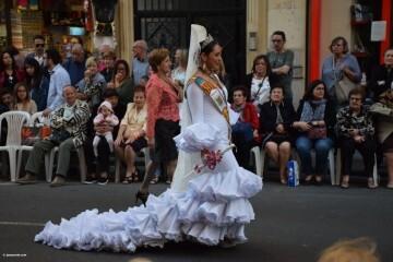 Procesión general por las calles del centro de Valencia en honor a la Virgen de los Desamparados (126)