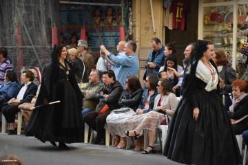 Procesión general por las calles del centro de Valencia en honor a la Virgen de los Desamparados (127)