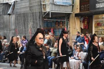 Procesión general por las calles del centro de Valencia en honor a la Virgen de los Desamparados (128)