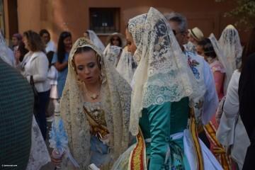 Procesión general por las calles del centro de Valencia en honor a la Virgen de los Desamparados (13)