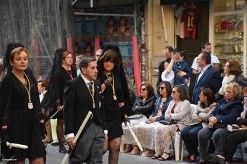 Procesión general por las calles del centro de Valencia en honor a la Virgen de los Desamparados (131)